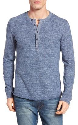 Men's Grayers 'Todd' Long Sleeve Slub Henley $65 thestylecure.com