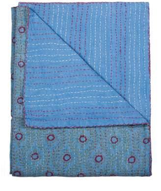 Kinetic Vintage Cotton Kantha Throw - 50x70
