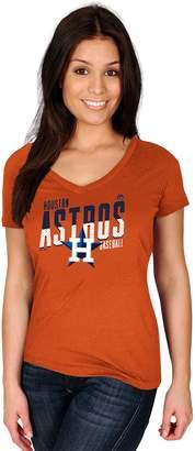 Majestic Women's Houston Astros Crank Up Tee
