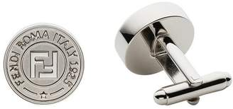 Fendi embossed logo cufflinks