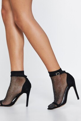 Nasty Gal Net Out of My Way Fishnet Socks