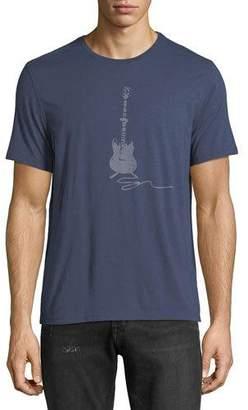 John Varvatos Guitar Graphic T-Shirt