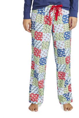 Vineyard Vines Patchwork Flannel Lounge Pants