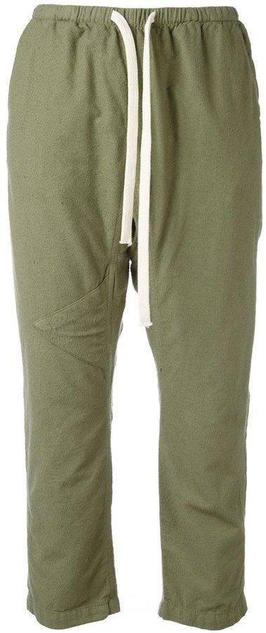 FreecityFreecity drawstring cropped pants