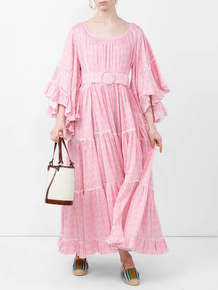 Gul Hurgel Oversized belted dress