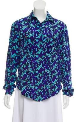 Yumi Kim Silk Printed Top