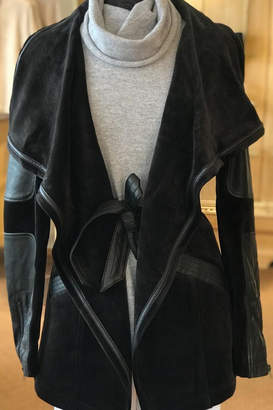 Blanc Noir Wrap Coat