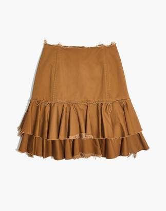 Madewell Karen Walker Saddle Tiered Skirt