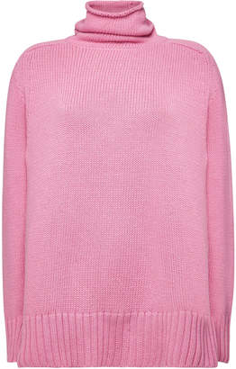 Joseph Turtleneck Pullover with Cotton and Cashmere