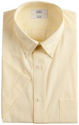 Croft & Barrow Men's Classic-Fit Easy-Care Short-Sleeved Dress Shirt