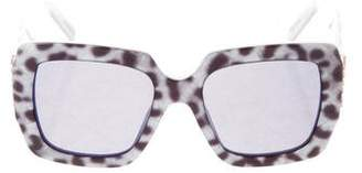 Marc Jacobs Square Oversize Sunglasses
