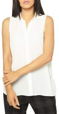 Dorothy Perkins Collared Sleeveless Blouse