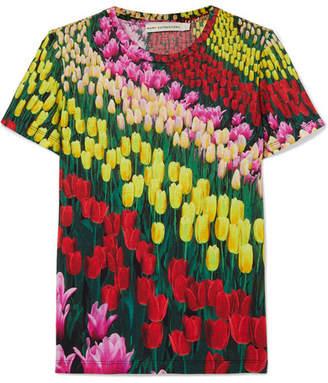 Mary Katrantzou Iven Floral-print Jersey T-shirt - Yellow