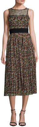 Manoush Marilyn Liberty Printed Midi Dress