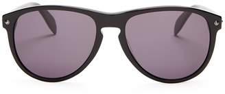 Alexander McQueen Oval-frame sunglasses