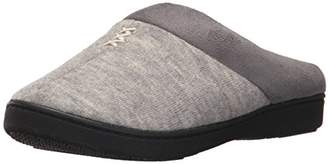 Isotoner Women's Microsuede Knit Marisol Hoodback Slippers