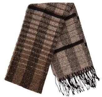 Dolce & Gabbana Woven Check Scarf