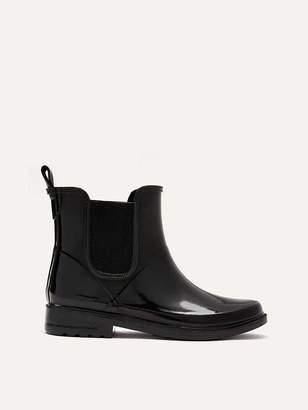 Wide Chelsea Short Rain Boots
