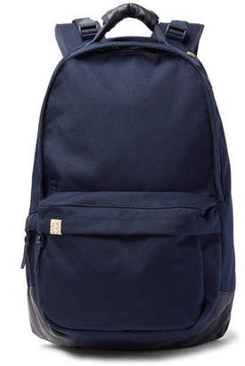 Visvim Leather-Trimmed Cordura Backpack