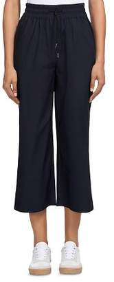 Whistles Cropped Flare Jogger Pants