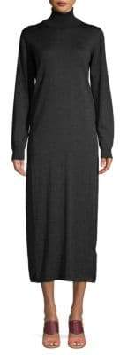 Tomas Maier Wool Turtleneck Sweater Dress
