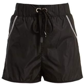 NO KA 'OI No Ka'oi - Hilo Performance Shorts - Womens - Black Multi