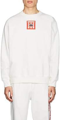 adidas by Alexander Wang Men's Logo Cotton Fleece Sweatshirt