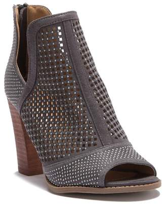Report Raider Studded Cutout Peep Toe Heel