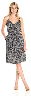 Splendid Women's Rainfall Batik Print Dress