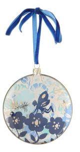 Scenery Ornament, Mist Blue