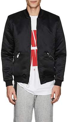 Blood Brother MEN'S FORMULA REVERSIBLE SATIN BOMBER JACKET