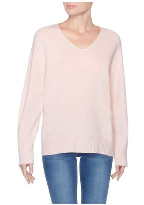 Magaschoni Cashmere Relaxed Hi-Lo Sweater