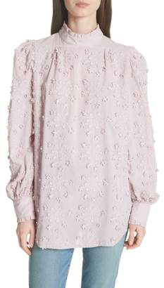 See by Chloe Embroidered Floral Blouse
