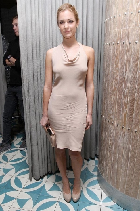 Boulee Carrie Dress in Nude