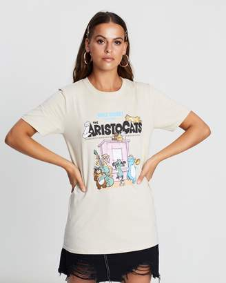 Missguided Disney Aristocats Graphic T-Shirt