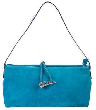 53b47325f195 Burberry Suede Bag - ShopStyle