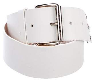 Celine Leather Embellished Belt