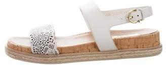 Salvatore Ferragamo Leather Strap Sandals