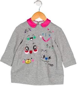 Simonetta Kids Girls' Embellished Knit Sweater
