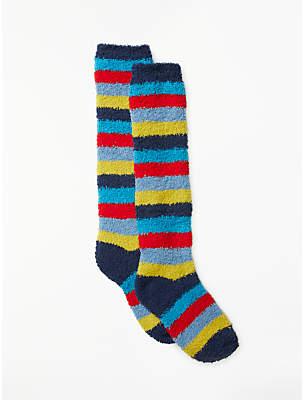 John Lewis & Partners Children's Stripe Welly Socks, Multi