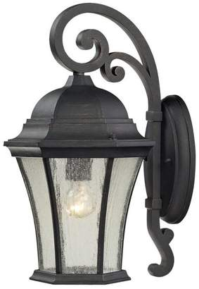 Elk Lighting Wellington Park 1-Light Outdoor Sconce