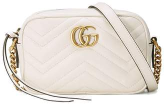 Gucci Mini Marmont Shoulder Bag With Strap