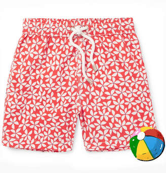 Hartford Boys Ages 2 - 12 Printed Shell Swim Shorts