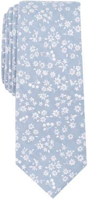 Bar III Men's Cristales Floral Skinny Tie
