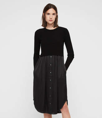 AllSaints Kowlo Shirt Dress