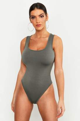 boohoo Premium Basic Sleeveless Bodysuit