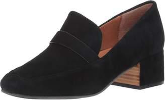 Gentle Souls by Kenneth Cole Women's Eliott Menswear Block Heel Loafer Shoe