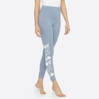 Yummie by Heather Thomson Skimmer Legging with floral embroidery detail