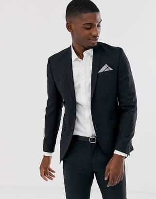Jack and Jones suit jacket in slim fit black