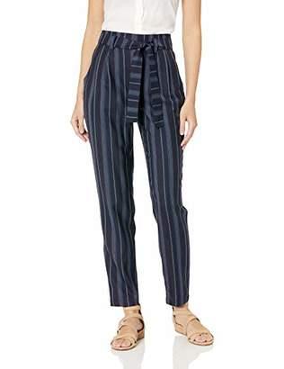 Pendleton Women's Stripe Belted High Waist Pant